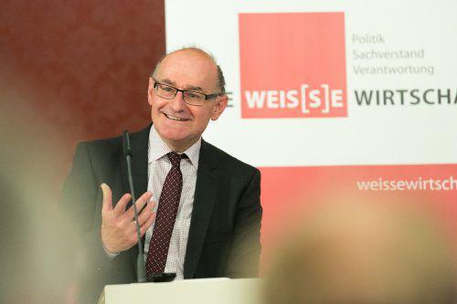 Peter Bußjäger ist Direktor des Instituts für Föderalismus und Universitätsprofessor in Innsbruck.