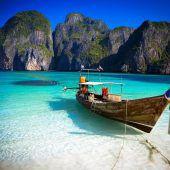 Thailand schließt Strand aus The Beach