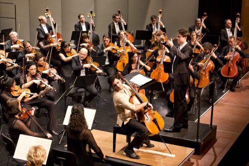 """Ein Preis in der Kategorie """"Orchestra Award"""" geht an den Vorarlberger Ausnahmecellisten Kian Soltani. SOV/Mathis"""