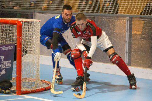 Wolfurt-Legionär Iker Bosch Zaldívar (r.) erzielte den 1:1-Zwischenstand.Sams