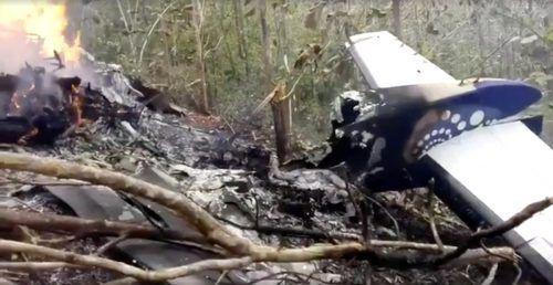 Zehn US-Touristen und zwei Piloten kamen beim Absturz ums Leben. reuters