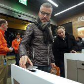 Erster Supermarkt ohne Kassen eröffnet