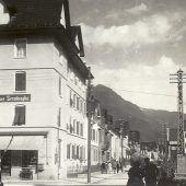 Einst und Jetzt. Bludenzer Hermann Sanderstraße