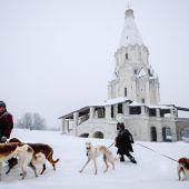 Moskau kämpft gegen Rekordschnee