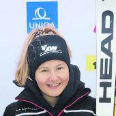Amanda Salzgeber beim U-16-Cup auf Platz drei