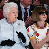 Königlicher Besuch bei Londoner Fashion Week