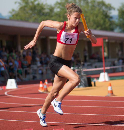 Anna Mager verteidigte ihre ÖM-Titel und erbrachte das EYOF-Limit.VLV