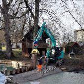 Hochwasserschutz   wird erneuert