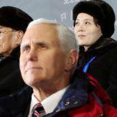 Nordkoreaner sagen geheimes Treffen mit Pence ab