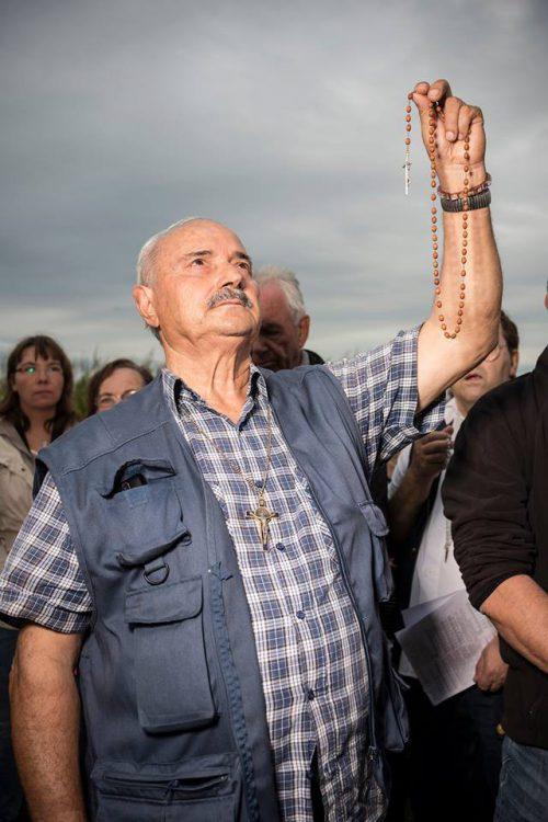 Bereits im September pilgerten Hunderte Menschen nach Unterflossing.
