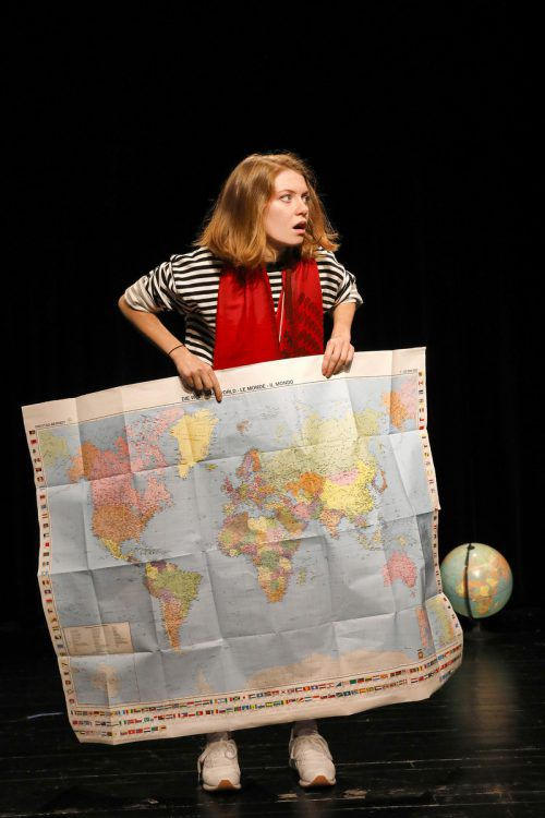 Bo-Phyllis Strube beeindruckt im Solostück als tapferes Mädchen Malala. Anja Köhler