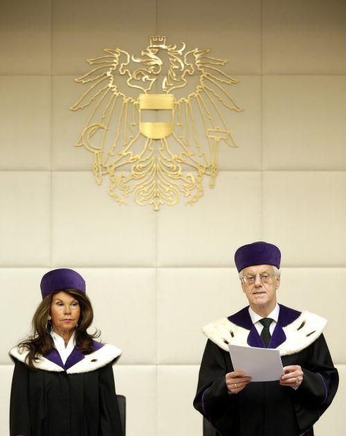 Brigitte Bierlein folgt Gerhart Holzinger als VfGH-Präsidentin nach.APA