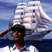 Der Captain analysiert die Lage