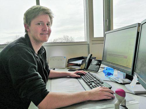 Christian Traut ist glücklich in seinem Beruf und lobt die HAK Bregenz als Schule, die ihm ein Rüstzeug mitgegeben hat.  Traut