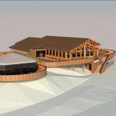 Sonnige Aussichten für Bergrestaurant