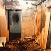 Brand in Asylunterkunft: Es war kein technischer Defekt