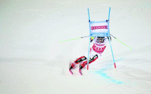 Der City-Event in Stockholm war für Marcel Hirscher das letzte Hindernis auf dem Weg zu den Olympischen Winterspielen in Pyeongchang.apa