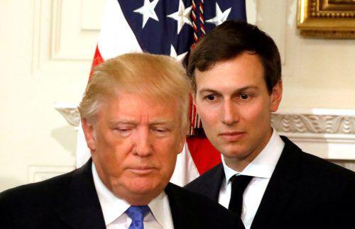 Der enger Berater und Schwiegersohn von Trump soll während des Wahlkampfes versucht haben, Kontakte zu Investoren aus 15 Ländern herzustellen. reuters