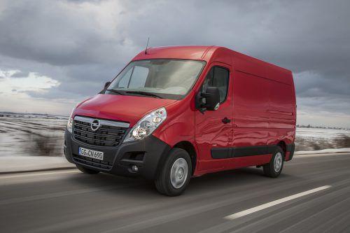 Der Opel Movano ist in bis zu 300 Variationen ab Werk bestellbar.