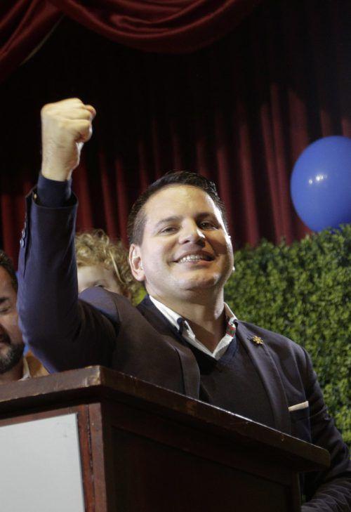 Der Pastor Fabricio Alvarado erhielt die meisten Stimmen. AP