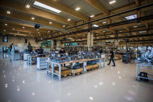 Der Vorarlberger Mittelstand (im Bild: Z Werkzeugbau) ist mit der Geschäftslage zufrieden.VN/Steurer