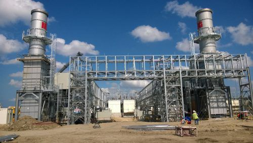 Gasturbinenanlage mit Abgassystem von Compact Global auf den Philippinen. FA