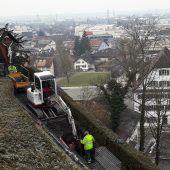 Wegsanierung am Liebfrauenberg