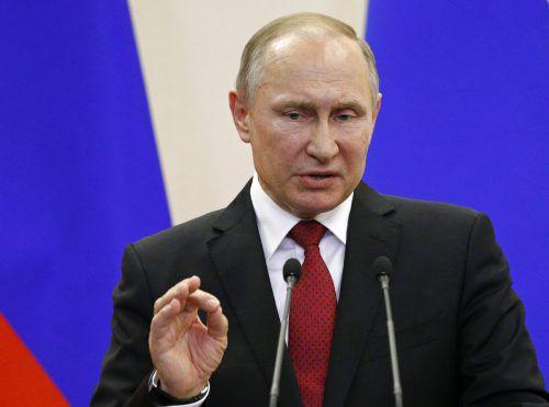 Die EU muss sich in Sachen Syrien an Putin wenden. AP