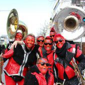 Lochau feierte farbenfrohen Umzug