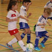 Junge Kicker sorgten für volle Rankler Sporthalle