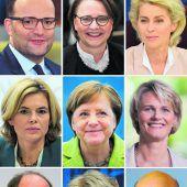 Ministerliste mit Überraschungen