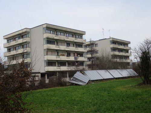 Die alten Personalhäuser der Stadt werden einem Neubauprojekt weichen. Baustart ist im kommenden Jahr. ha