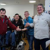 Ein Quartett vertritt die Bewohner der Vorarlberger Lebenshilfe