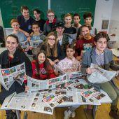 Schüler schreiben Zeitung