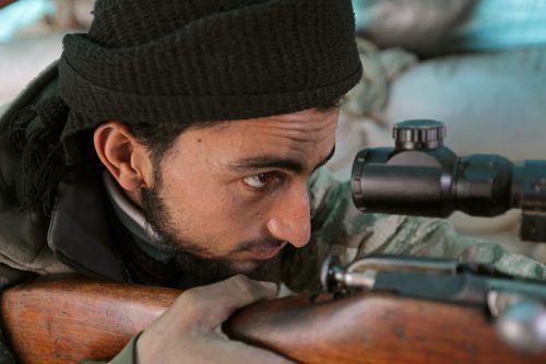 Die Türkei unterstützt Kämpfer im Syrien-Krieg. RTS