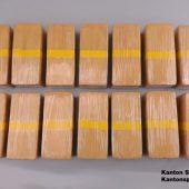 Nicht weniger als 15 Kilogramm Heroin ausgehoben