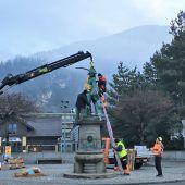 Auffrischungskur für Bludenzer Denkmal