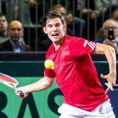 Perfekter Auftakt im Davis-Cup