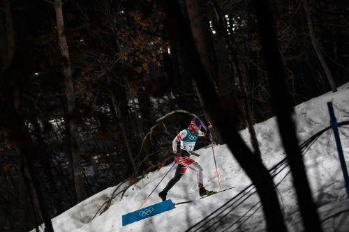 Dominik Baldauf ist mit seinen bisherigen drei Olympia-Starts nicht zufrieden.AFP