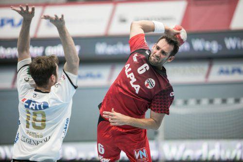 Dominik Schmid hat ein klares Versprechen für seinen Stammverein abgegeben und bleibt weiter beim Alpla HC Hard. Kröss
