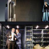 Premiere von Donizettis Oper Don Pasquale am Kornmarkt