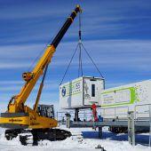 Antarktis-Gewächshaus nimmt den Betrieb auf