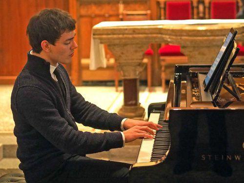 Ein Highlight war der Auftritt des Vorarlberger Pianisten Aaron Pilsan. Voith