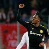 Traumdebüt von Batshuayibei 3:2-Sieg von Dortmund in Köln