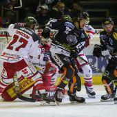 4:1-Erfolg über den HCB Südtirol, Dornbirn buchte das Viertelfinale. C7