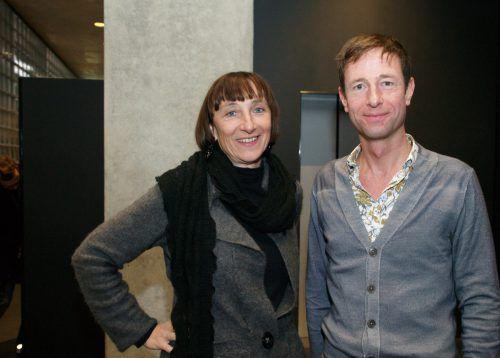 Elisabeth Sobotka (Bregenzer Festspiele) und Chefdramaturg Olaf Schmitt.