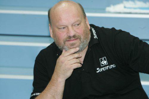 Ex-Hard-Meistermacher Frank Bergemann ist nun Trainer von Schwaz.VN/Stiplovsek