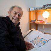 Happy End für Friedbert Longo: Der 84-Jährige hat jetzt eine warme Unterkunft. A6