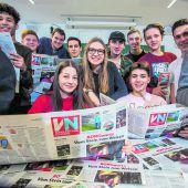 Schülerzeitung mit Matura-Niveau