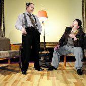 Im Theater Kosmos duellieren sich derzeit Ernst Jandls Humanisten. D6